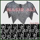 Nasir Ali Medieval Cadena Camisa Aventail Cadena Camisa Aventail Larp Renactment Amor Disfraz