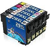 STAROVER 5x Kompatibel Druckerpatrone Ersatz für Epson 29 XL 29XL Tintenpatronen (2 Schwarz + 1 Cyan + 1 Magenta + 1 Gelb) für Epson Expression Home XP-235 XP-245 XP-247 XP-330 XP-332 XP-335 XP-342 XP-345 XP-430 XP-432 XP-435 XP-442 XP-445 Drucker
