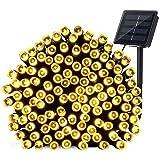 11,8 m de longitud 100 con energía solar LED Luz de Navidad, blanco...