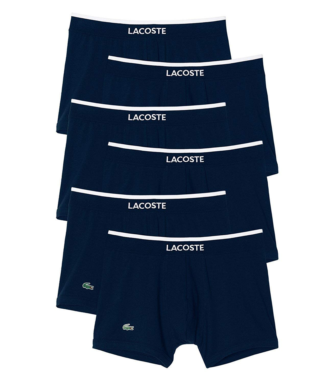 Lacoste Calzoncillos Hombre Boxer Shorts Bañador Colours 150957 6er Paquete