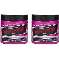 Manic Panic - Cotton Candy Classic Creme Vegan Cruelty Free Pink Semi Permanent Hair Dye - 2 x 118ml