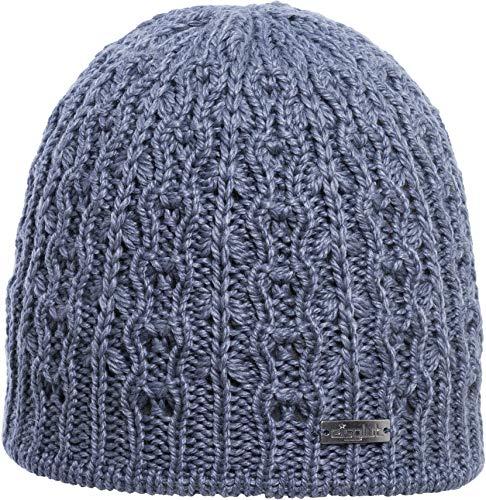 Eisglut Damen Emilia Merino Mütze, Bluestone, M - Merino Knit Hat