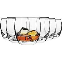 Krosno Verres à Whisky   Lot de 6   300 ML   Collection Elite   Parfait la Maison, Les Restaurant,s Les Fêtes   Lave…