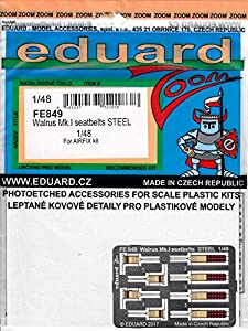 Eduard Accessories fe849 30502000 Walrus MK.I Seat V6D310Z Steel For Airfix