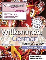 Willkommen German Beginner's Course: Course Pack (Book & CD)