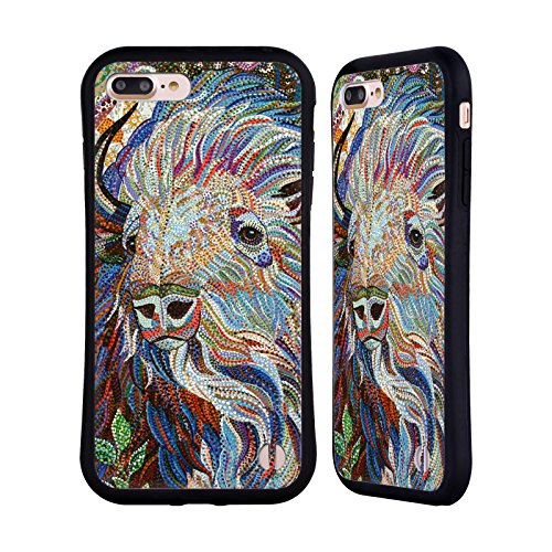 Ufficiale Erika Pochybova Maiale Animali Case Ibrida per Apple iPhone 6 / 6s Bufalo