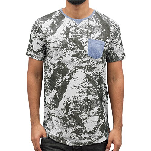 Just Rhyse Herren Oberteile / T-Shirt Summit Bunt