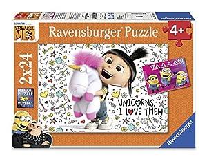 Ravensburger-4005556078110 Puzzle 2 x 24