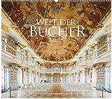 Welt der B�cher 2019, Wandkalender im Querformat (54x48 cm) - Mit den eindrucksvollsten Bibliotheken und B�chereien der Welt mit Monatskalendarium Bild
