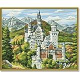 Schipper 609350550 - Malen nach Zahlen - Schloss Neuschwanstein 40x50 cm