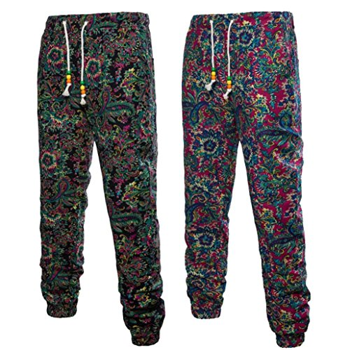 Pantalons Haren Homme Survêtement Casual Jogger Sportwear Baggy Comfy Malloom