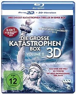 Die große Katastrophenbox 3D - Volume 2 - Boxset mit 3 3D Blu-rays: Das Ende der Welt, Ice Twister, Die neue Prophezeiung der M