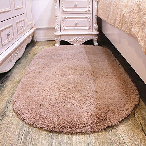 KELE Lovely Oval Teppich Home Living Zimmer couchtisch teppiche-K 120x200cm(47x79inch) (Teppich Dampf Reinigung-maschinen)