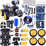 Kuman SM3 Wi Robot Car Kit für Arduino, 4 Rad Utility Vehicle WiFi Intelligente Robotik Arduino DS Roboter HD Kamera Wireless Roboter Smart Car Kit 7,4 V