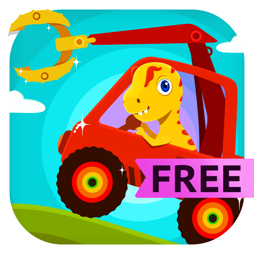 Dinosaur Digger - Monster Truck Simulator & Driving Games For Kids and Toddlers Free (Lego Truck Kleinkind)