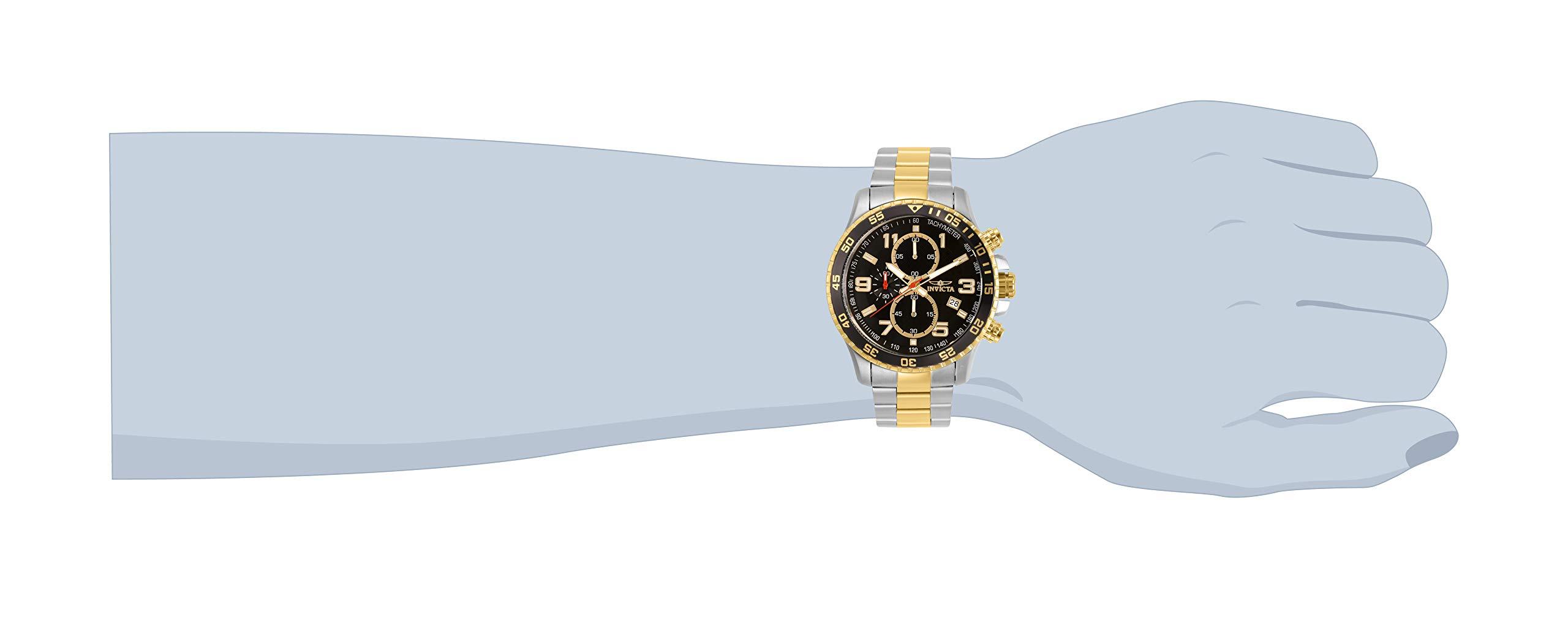 Invicta 14876 Specialty Reloj para Hombre acero inoxidable Cuarzo Esfera