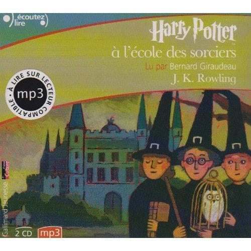"""Harry Potter a l'Ecole des Sorciers (French Audio CD (2 MP3 Compact Discs) Edition of """"Harry Potter and the Philosopher's Stone"""") (French Edition)"""