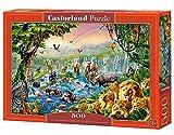 Castorland 'Jungle rivière (Puzzle Puzzle 500pièces, multicolore)