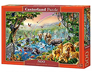 Castorland- Jungle River Puzle, Multicolor (B-52141)