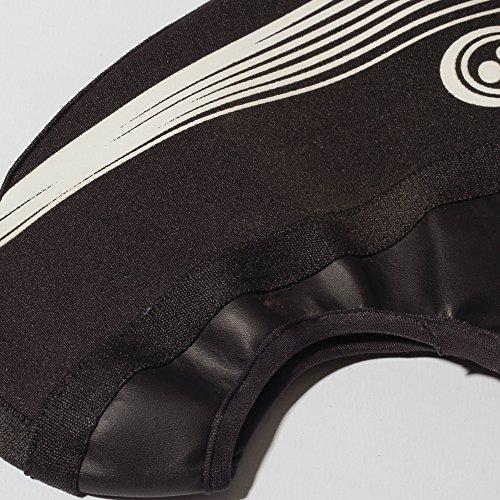 Optimum Sur-chaussures de cyclisme en néoprène pour homme noir - Noir