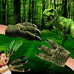 VAMEI Jurassic World Velociraptor Garras para Niños Favores de Cosplay para Fiestas Infantiles