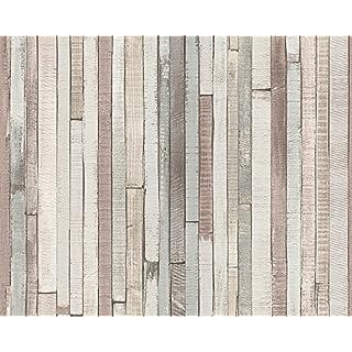 A.S. Creation 940552 Non-Woven Wallpaper A.S. Création Pattern Line Authentic Walls, Multi-Colour, Breite 0,53 m - Rollenlänge 10,05 m