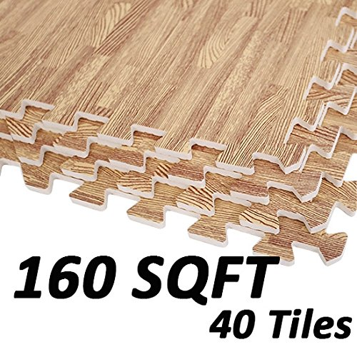 greenbay-interlocking-eva-foam-mats-kids-play-gym-house-exercise-floor-mat-light-wood-grain-40-tiles