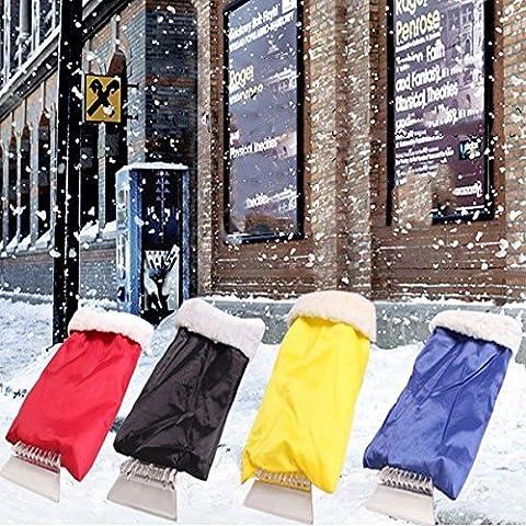 Poseidon Auto inguainato pala da neve raschietto del ghiaccio scongelamento paletta Lame sgombraneve guanti di strumenti di pulizia