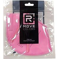 rmove 20 pezzi di mascherine FFP2 colorate Rosa Certificate CE mascherina rosa ffp2 (Pink, 20 pezzi)