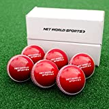 FORTRESS Cricket 'Incrediball' Practice Balls [6 Pack] - Excellent Cricket Practice Ball - [Net World Sports]