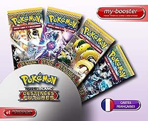 9x Booster Pokemon Noir & Blanc Destinées Futures Français neufs