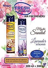 Fresh Forever Air Freshener Combo Mystic Sandal and Lavender Aroma