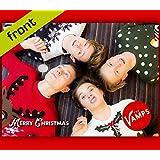The Vamps reproducción autógrafo tarjeta de Navidad repro firmada por todos los 4miembros