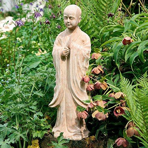 Gärtner Pötschke Terracotta-Gartenfigur Mönch Tongmao