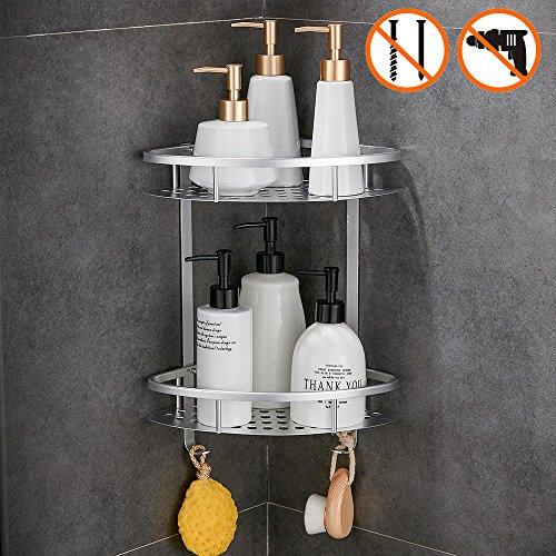 Wopeite Badezimmer Duschregal Duschkabine Nagelfrei Kein Schaden Selbstklebend Für Küche Badezimmer -