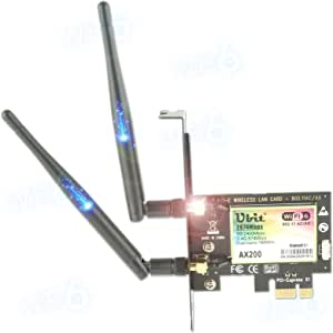 Wifi 6 Ax200 Pcie Wlan Card Max 3000 Mbit Computers Accessories