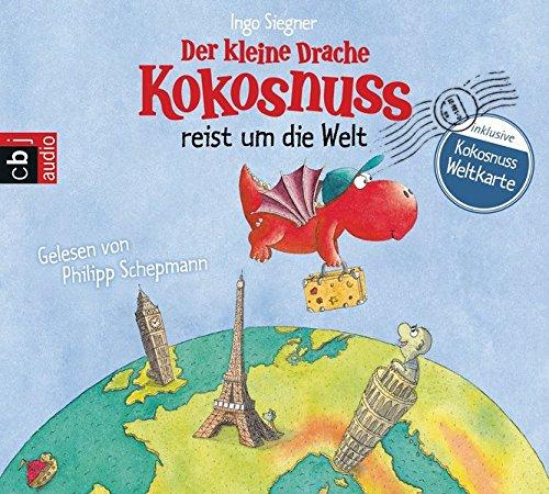 Preisvergleich Produktbild Der kleine Drache Kokosnuss reist um die Welt (Vorlesebücher, Band 3)