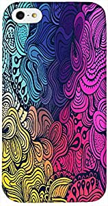 Timpax Protective Hard Back Case Cover Printed Design : A colourful abstract design.Specifically Design For : Apple iPhone 4 / 4S