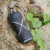 AUKEY Altavoz Bluetooth Portátil, Altavoz Inalámbrico Al Aire Libre Resistente y Prueba de Agua con Micrófono Incorporado para iPhone, Teléfonos Samsung y Más (Negro)