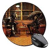 Alien Vs Predator Ajedrez Chess AVP Mauspad Round Mousepad PC