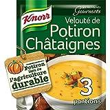 Knorr Soupe Moments Gourmets Velouté de Potiron Châtaignes 64g - Lot de 8