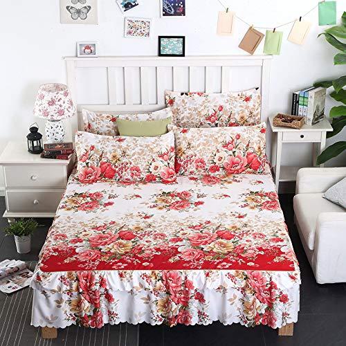huyiming Verwendet für Einzelbettdecke Bett Rock einteiliges