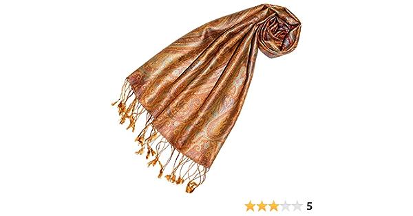 Lorenzo Cana Seidenschal Schal 100/% Seide 35 x 160 cm Paisley Muster Seidentuch Damenschal 7818788