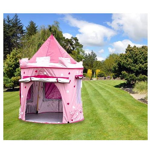 KiddyPlay Deluxe Pink Pop-Up Castle Play Tent  sc 1 st  Outdoor Furniture Store & KiddyPlay Deluxe Pink Pop-Up Castle Play Tent | Outdoor Furniture ...