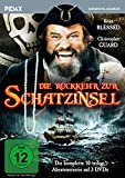 Die Rückkehr zur Schatzinsel / Die komplette Abenteuerserie (Pidax Serien-Klassiker) [3 DVDs]