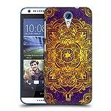 Head Case Designs Gold Mandala Doodle Ruckseite Hülle für HTC Desire 620/620 Dual SIM