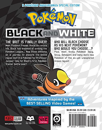 POKEMON BLACK & WHITE GN VOL 01 (C: 1-0-0)
