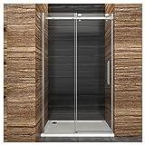 Dusche Duschkabine Duschabtrennung 140x195cm Duschtür Duschwand aus Sicherheitsglas