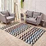 & Hausteppich Teppich Wohnzimmer Couchtisch Schlafzimmer Teppich Moderne Bodenmatte Sofa Zimmer Bedside Area Carpet Teppich Supermarkt (Farbe : #3, größe : 80 * 120cm)