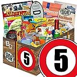 Geschenk Ideen | 24x Allerlei | Zahl 5 | Ossi Produkte Vati